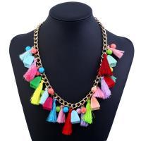 Halskette, mit Harz & Zinklegierung, mit Verlängerungskettchen von 5cm, für Frau, frei von Blei & Kadmium, 500mm, verkauft per ca. 19.5 ZollInch Strang