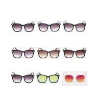 Art- und WeiseSonnenbrillen , Harz, mit PC Kunststofflinse & Zinklegierung, unisex, keine, 137x47x145mm, verkauft von PC