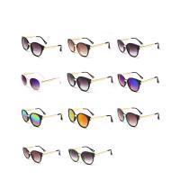 Art- und WeiseSonnenbrillen , Harz, mit PC Kunststofflinse & Zinklegierung, unisex, keine, 152x50x132mm, verkauft von PC