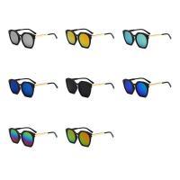 Art- und WeiseSonnenbrillen , Harz, mit PC Kunststofflinse & Zinklegierung, unisex, keine, 148x60x142mm, verkauft von PC