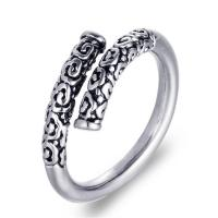Titanstahl Open -Finger-Ring, poliert, verschiedene Größen vorhanden & für den Menschen & Schwärzen, 2.7mm, verkauft von PC