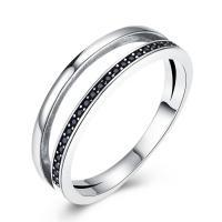 comeon® Finger-Ring, Thailand, verschiedene Größen vorhanden & Micro pave Zirkonia & für Frau, 6mm, verkauft von PC
