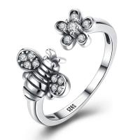 comeon® Finger-Ring, Thailand, Biene, einstellbar & für Frau, 16mm, Größe:8, verkauft von PC