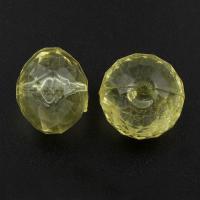 Transparente Acryl-Perlen, Acryl, 18x15mm, Bohrung:ca. 1mm, ca. 180PCs/Tasche, verkauft von Tasche