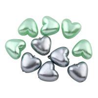 Imitation Acryl-Perlen, Acryl, Herz, keine, Bohrung:ca. 1mm, ca. 1250PCs/Tasche, verkauft von Tasche