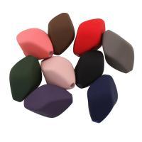 Acryl Perle, gummierte, gemischte Farben, 30x17x17mm, Bohrung:ca. 3mm, ca. 99PCs/Tasche, verkauft von Tasche