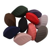 Acryl Perle, verschiedene Größen vorhanden & gummierte, gemischte Farben, Bohrung:ca. 2mm, verkauft von Tasche