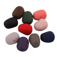 Acryl Perle, gummierte, gemischte Farben, 13x18x18mm, Bohrung:ca. 1mm, ca. 255PCs/Tasche, verkauft von Tasche
