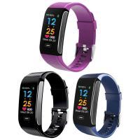 Intelligente Uhrtelefon, Silikon, mit Kunststoff & Zinklegierung, plattiert, Herzfrequenzmessung & Anrufanzeige & pedometer 3D & calorie & Multifunktions & unisex & einstellbar & LED & wasserdicht, keine, 20x12mm, Länge:ca. 9.2 ZollInch, verkauft von PC