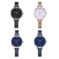 MINIFOCUS® Uhrenkollektion, Edelstahl, mit Glas & Zinklegierung, plattiert, für Frau & mit Strass, keine, 34x7.9mm, Länge:ca. 9 ZollInch, verkauft von PC