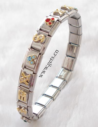 WHOLESALE JEWELRY - STARTER BRACELETS FOR ITALIAN CHARMS