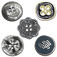 Gets.cn  Zinc Alloy Button      Zinc Alloy Button
