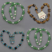 Gemstone Crystal Necklace