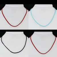 Suede Cord Necklace