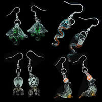 Luminous Lampwork Earring