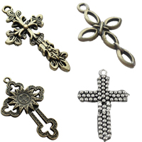 Zinc Alloy Cross Pendants