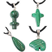 Malachite Pendants