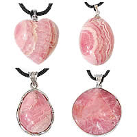 Rhodonite Pendants