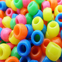 Plastic Pony Beads