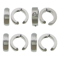 Stainless Steel Clip Earrings